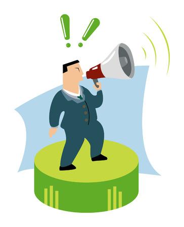 Business Concepts: Announcement Stock Vector - 2430019
