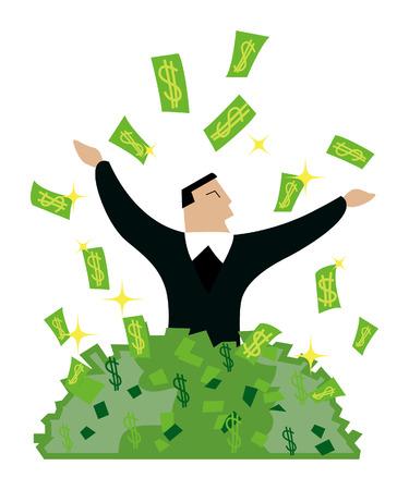 Business COncepts: Success Illustration