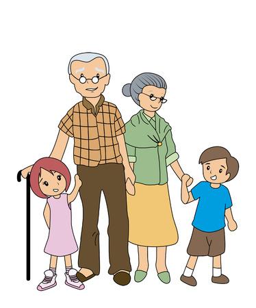 granddad: Children with GrandParents