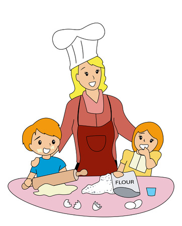 flour: MOther and CHildren Baking