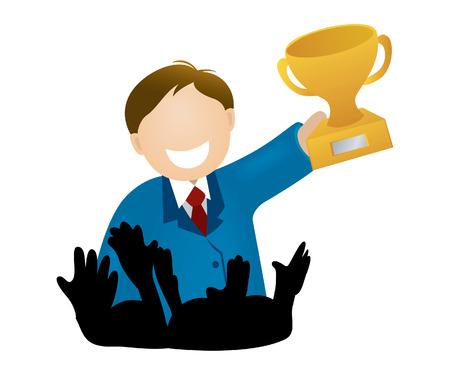 reconnaissance: Illustration du gagnant