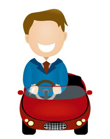 stirring: Businessman Driving
