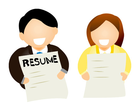 the applicant: People with Resumes