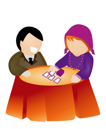 Fortune Telling Stock Vector - 2727422