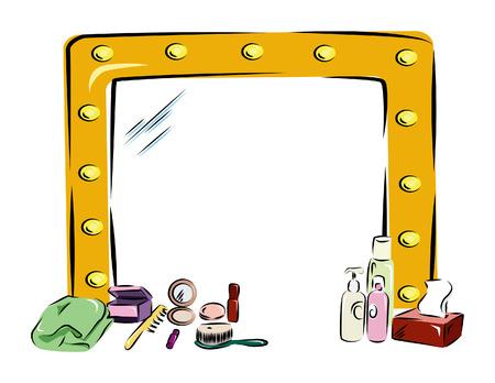 Vanity Mirror Vecteurs