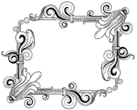 clipping: Vintage Frame