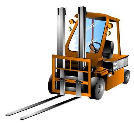 Forklift Truck  Stock Vector - 3022758
