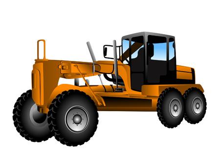 Motor Grader  Vector