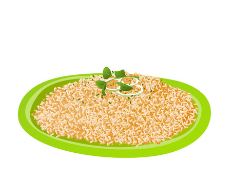 fried: Java Rice Illustration