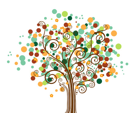 Tree Design Element Stock Vector - 3022759