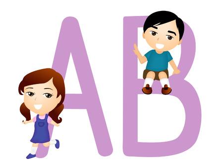 capitel: Niños alfabético Series