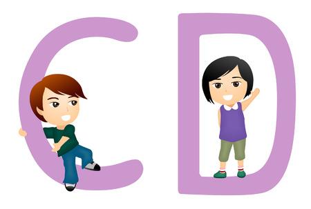 Children Alphabet Series