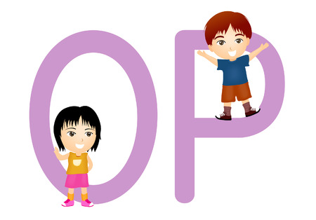 Children Alphabet Series Vector