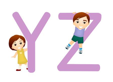 Serie niños Alfabeto