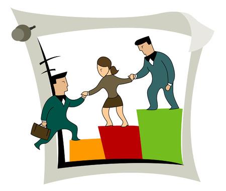 sales executive: Business conceptos: el crecimiento de los negocios