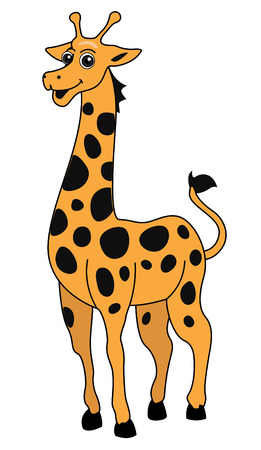 Giraffe Illustration  Illustration