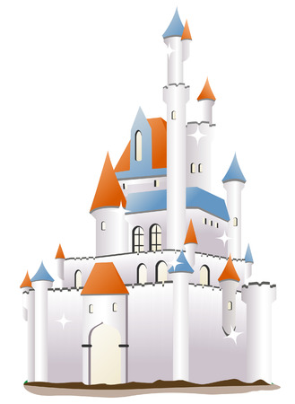 fairytale: Castle Illustration