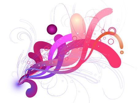 Abstract Waves Vector