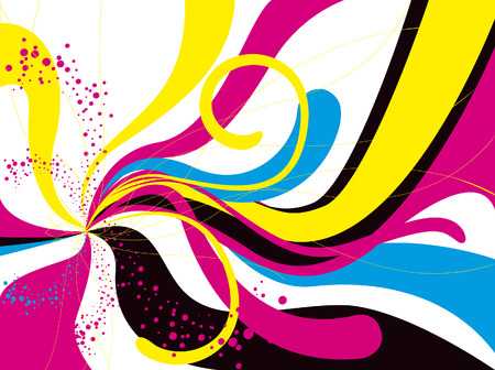 Abstract Waves for Background Vector
