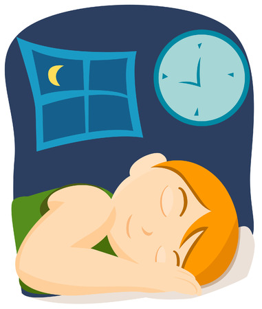 sleeping child: Sleeping Child  Illustration