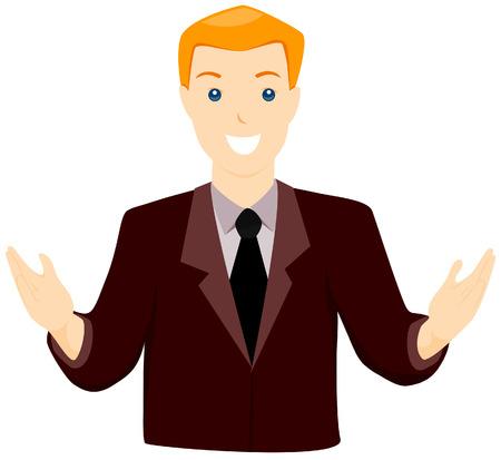 talking businessman: Hombre de negocios hablando con limitaci�n Ruta