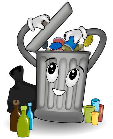 proper: La corretta separazione dei rifiuti con Clipping Path