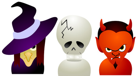 Halloween  Characters Vector