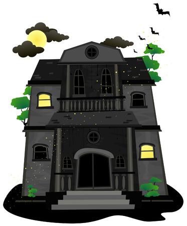 maison de maitre: Haunted House