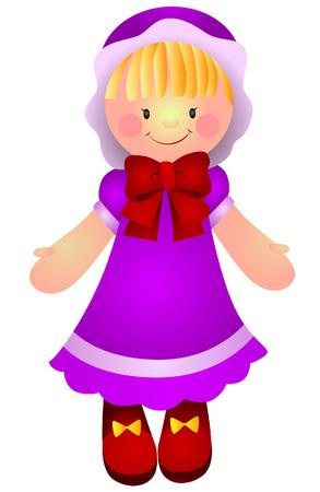 stuff toys: Doll Illustration  Illustration