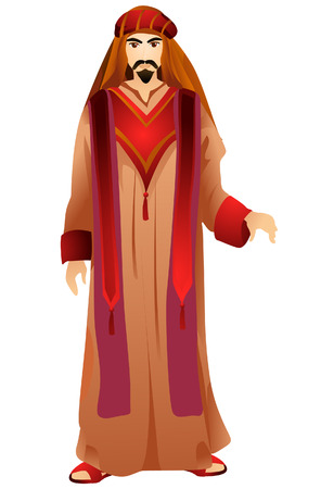 Arab Costume with Clipping Path