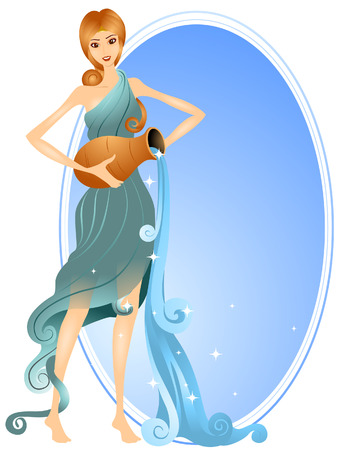 Aquarius (1 of 12) with Clipping Path