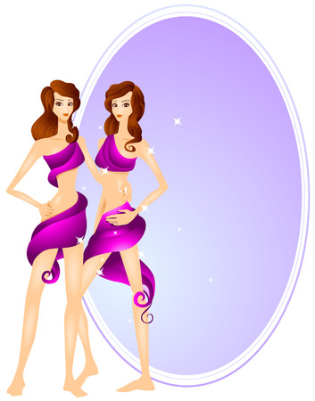 gemini: Gemini (5 of 12) with Clipping Path