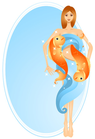 pisces: Pisces (8 of 12) with Clipping Path