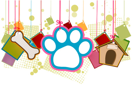 Pet Items with Clipping Path Stock Vector - 3928259