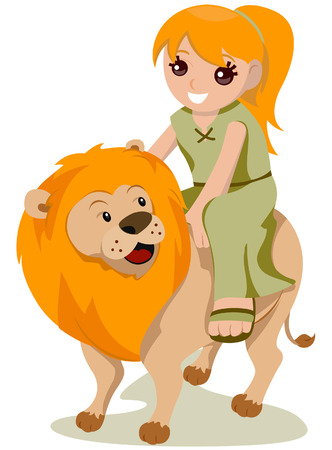Leo Costume with Clipping Path Stock Vector - 4026762