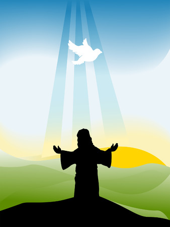 Holy Trinity Silhouette Series Stock Vector - 4206152