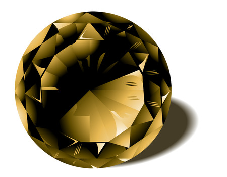 birthstone: Topaz Birthstone with Clipping Path