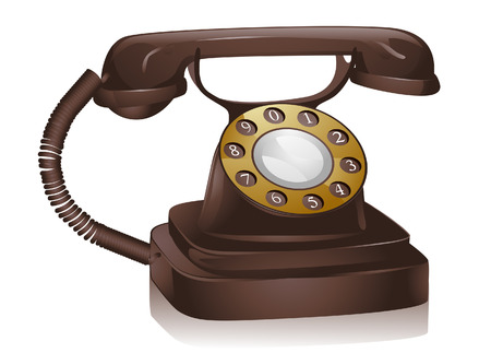 telefon: Retro Telefon