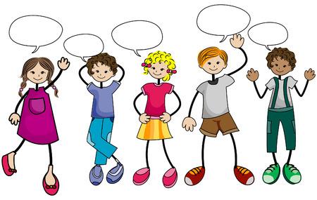 talking: Parler avec les enfants Clipping Path
