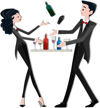 bartender: Les barmans