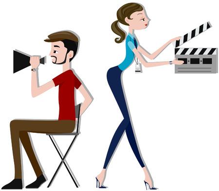 directors: Film Makers Illustration