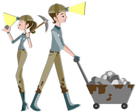 miners: Miners Illustration