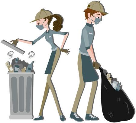 �garbage: Recolector de residuos