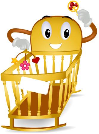bebe cuna: Cuna beb� con saturaci�n camino
