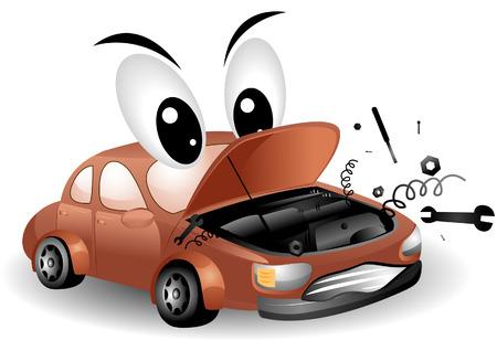in trouble: Problemas con el coche camino de recorte
