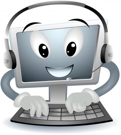 computer support: Computer Support con percorso di clipping