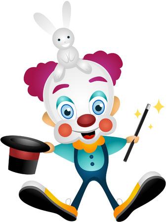 Cartoon Clown Stock Vector - 5391129