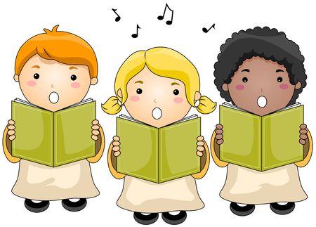 children clipart: Children Choir