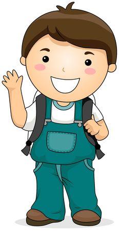 gente saludando: Un alumno de Kid