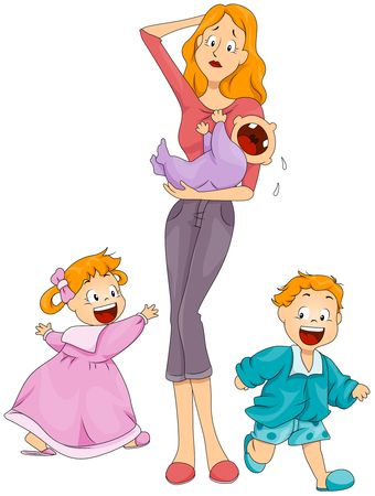 Babysitter / Caregiver / Nanny / Mother  Stock Photo - 6810782